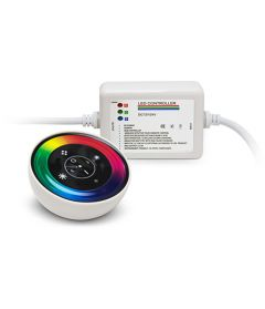 LD-RC-T-B2 RGB controller +white round remote 3x6A