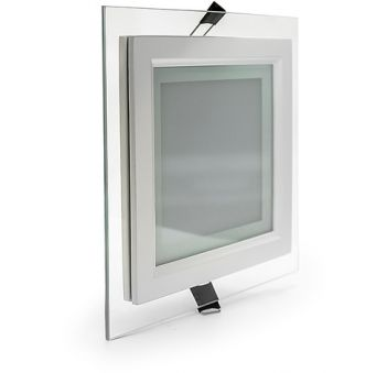 Светильник Glass panel light 15W 4000K 200*200 IP20